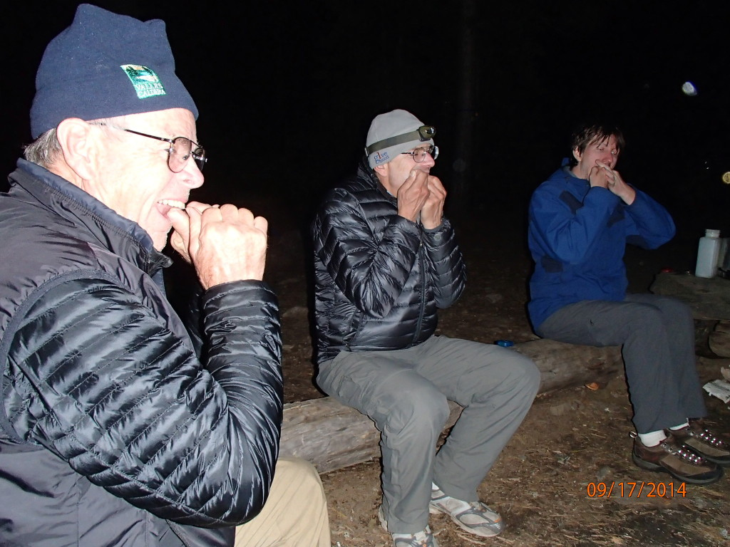 The backcountry never saw such sparkling teeth by the campfire