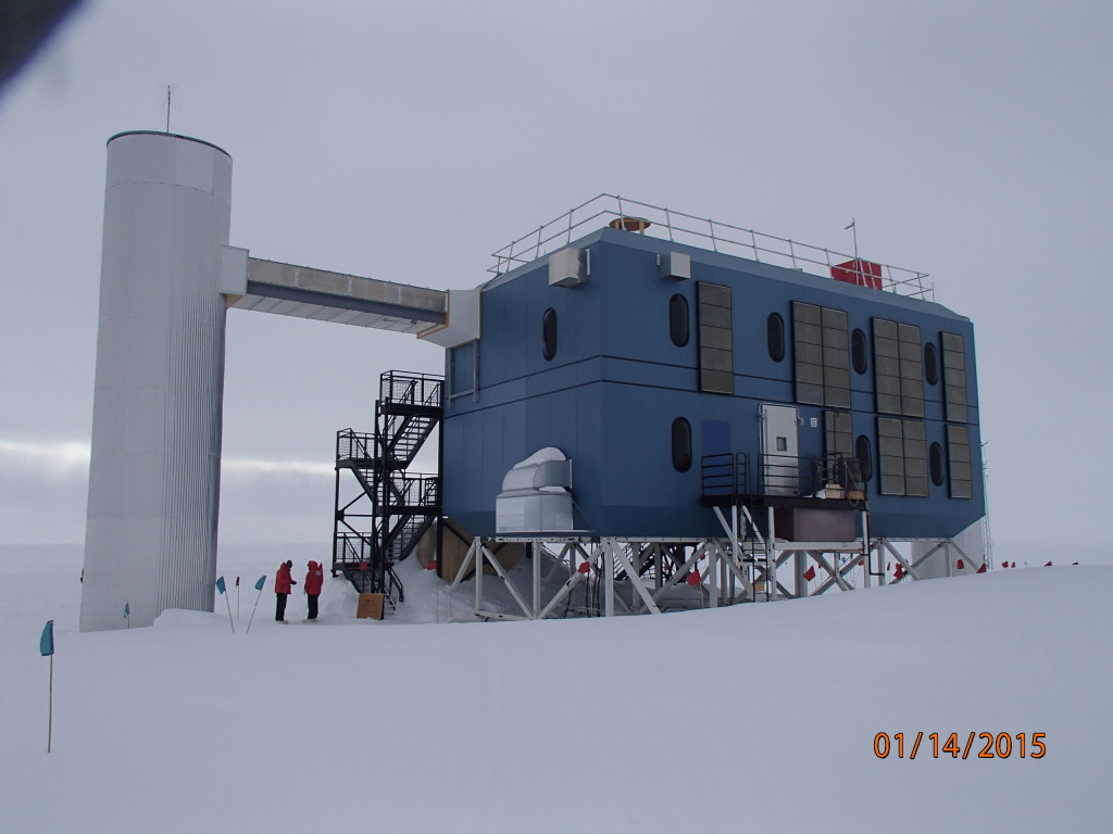 South Pole Ice Cube project