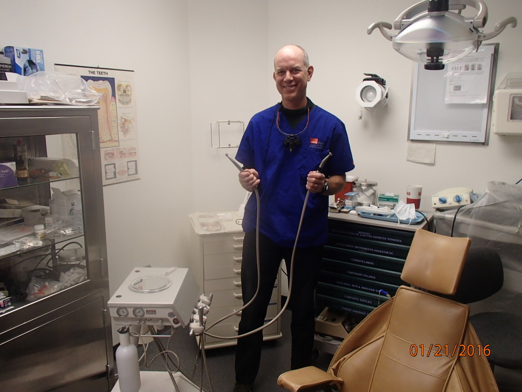 New dental drills at the South Pole clinic