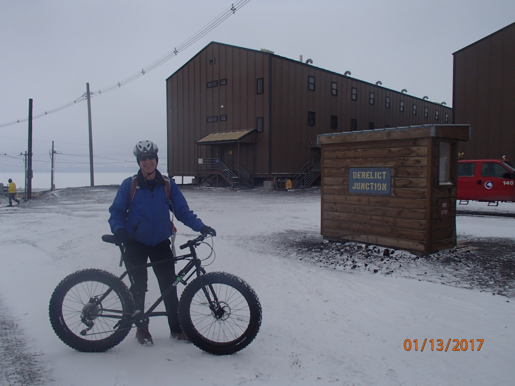 Fat tire bike fun around McMurdo