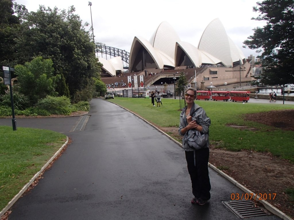 We walked through the Sydney Botanical Gardens to reach the Opera House
