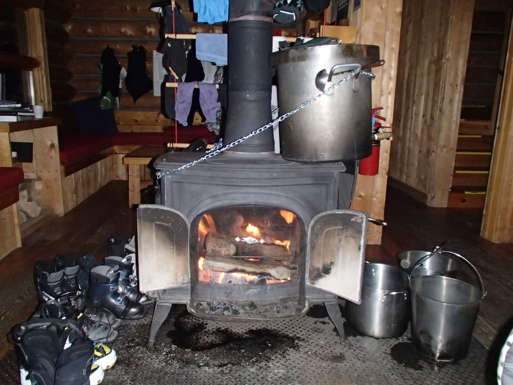 Melting Snow And Boiling Water | The Benefits of Using A Wood Burning Stove On Your Homestead